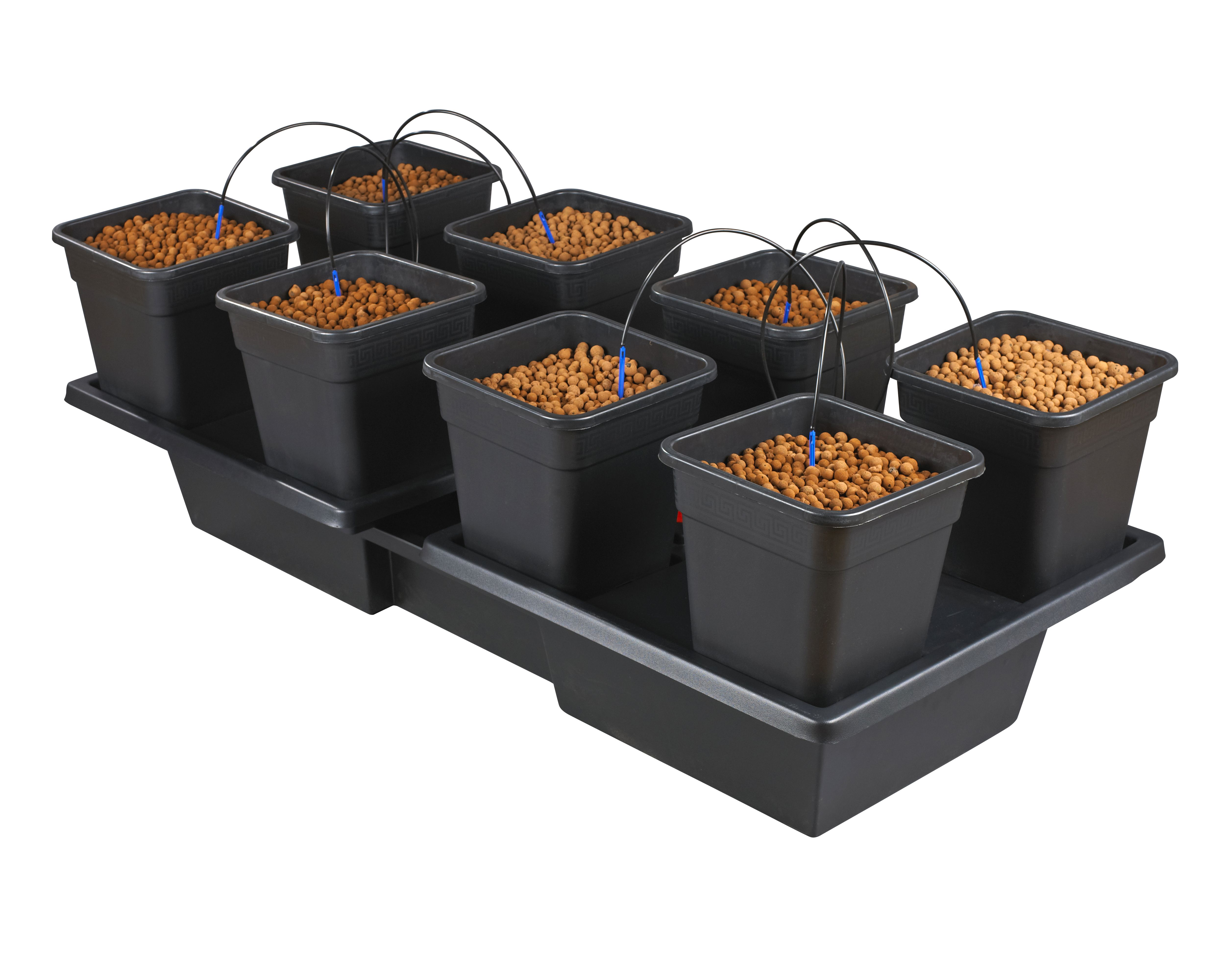 Wilma Large Wide 8 Complete System (18L Pots)