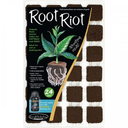 Root Riot 24 in Tray